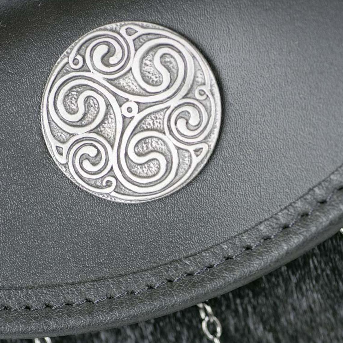 Celtic Swirl Semi Dress Sporran