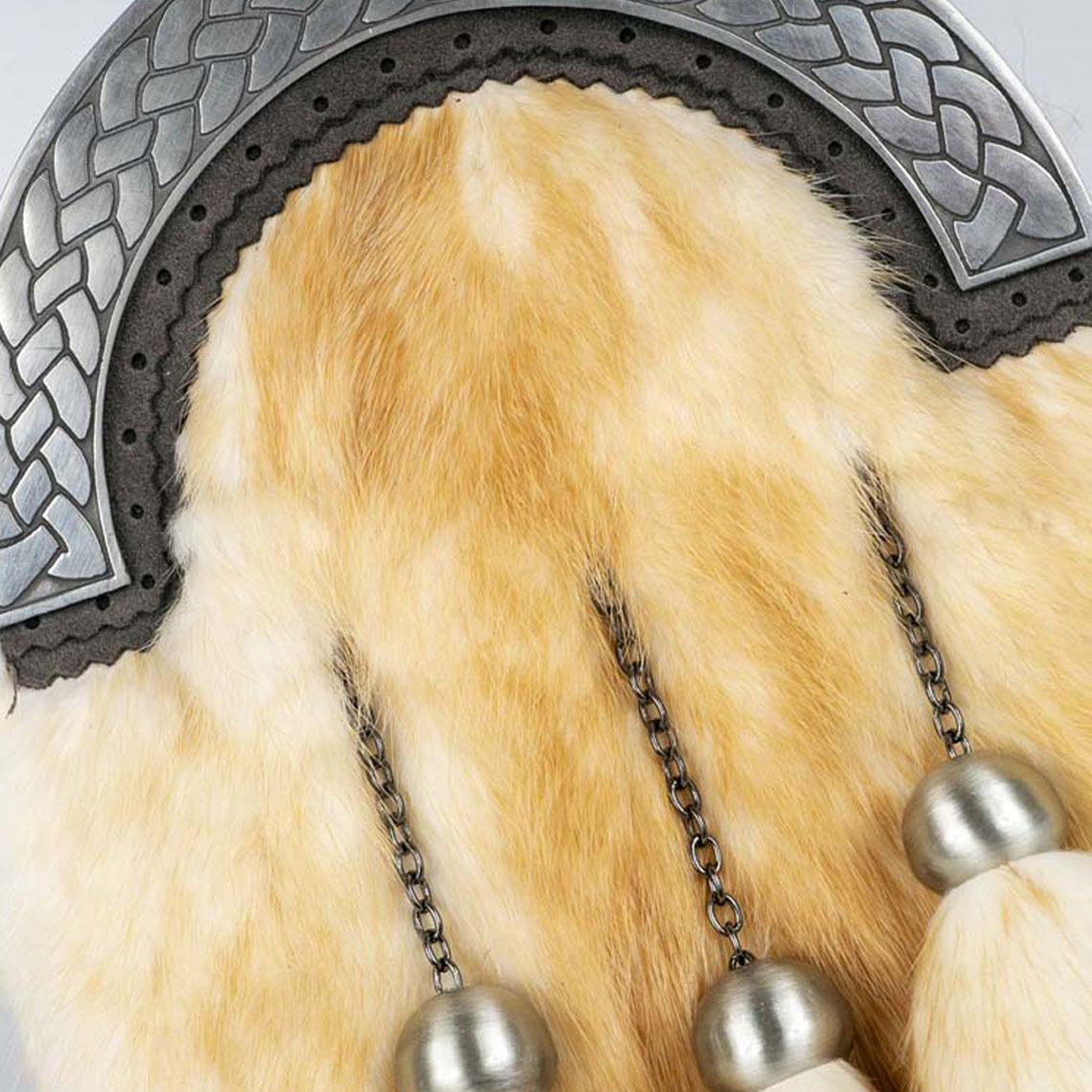 Gold Mink Celtic Weave Sporran