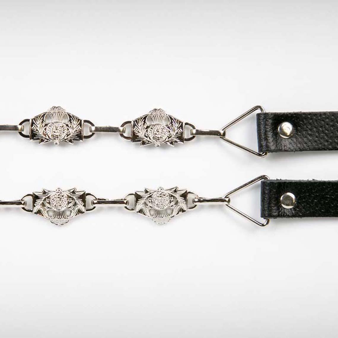 Thistle Sporran Chain Antique