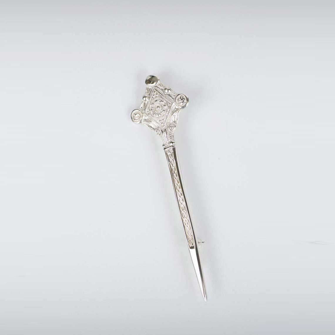 Celtic Ram Kilt Pin