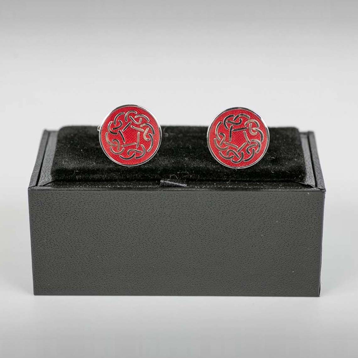 Red Celtic Cufflinks