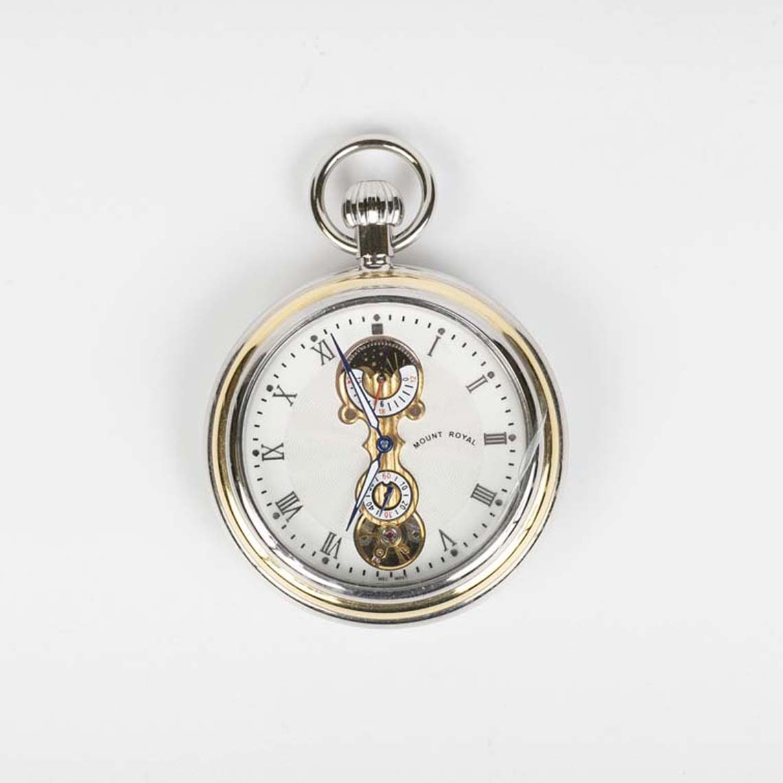 Contemporary Moon Dial Pocket Watch