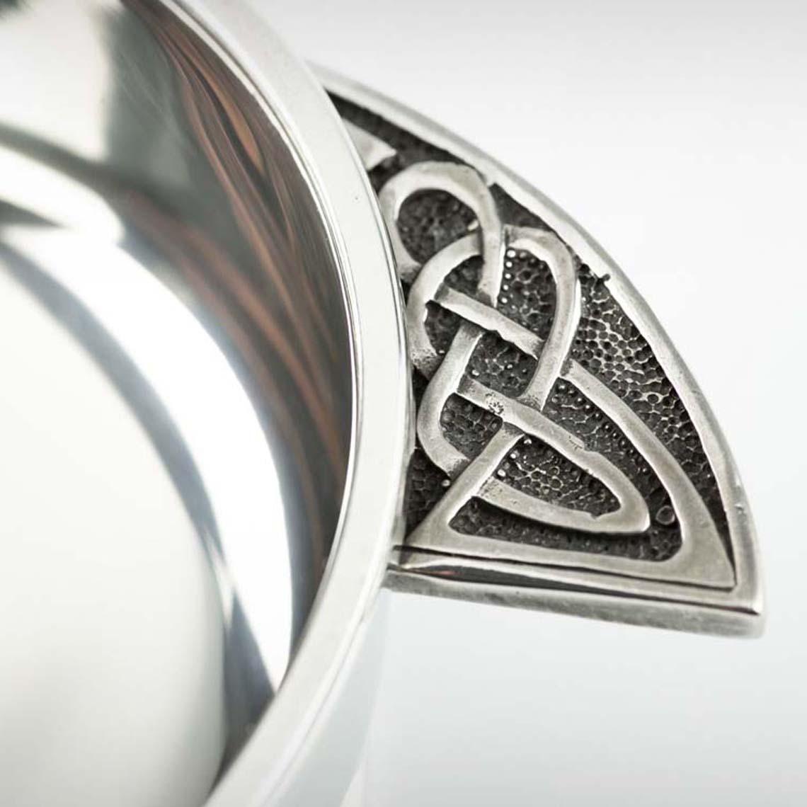 Celtic Knot Angle Quaich