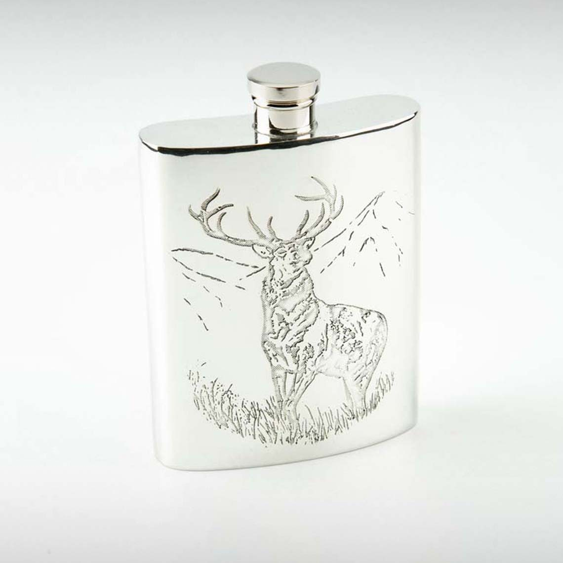 Proud Stag Hip Flask