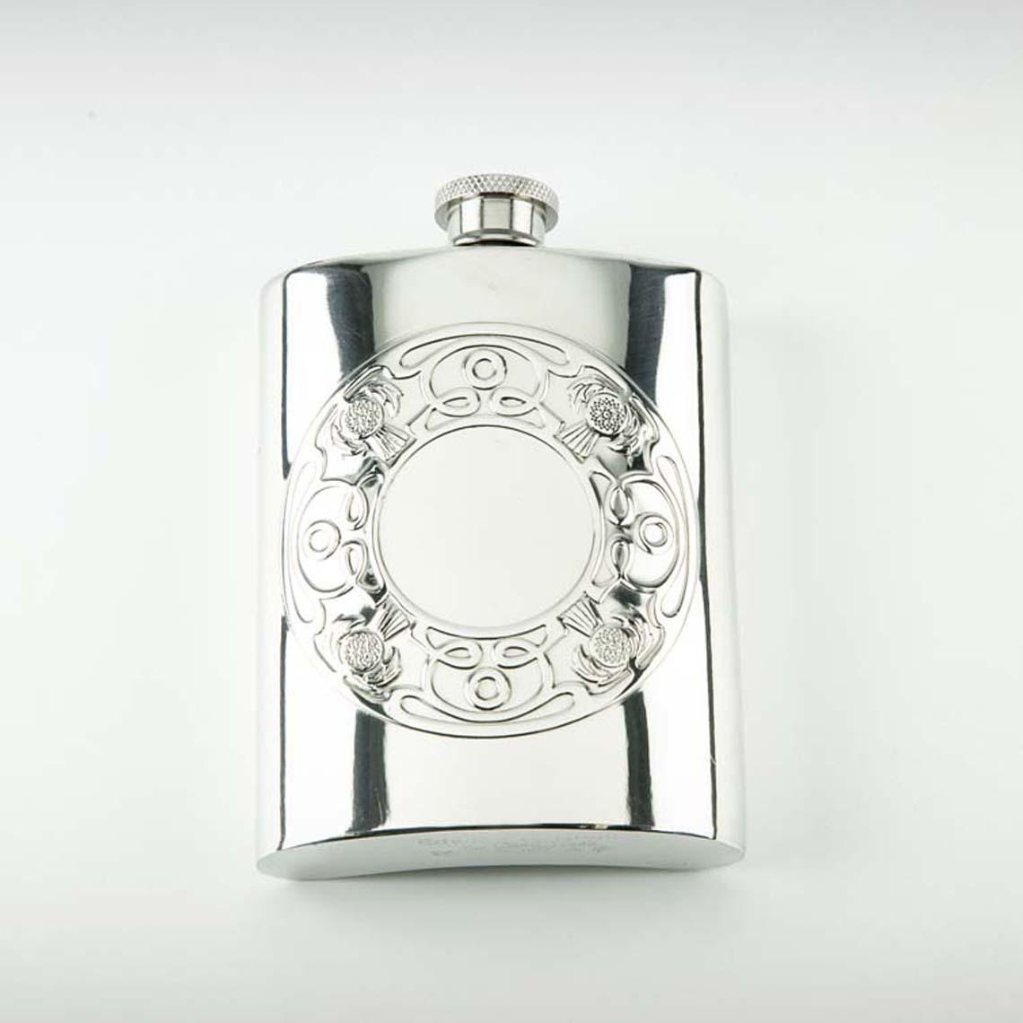 Thistle & Celtic Hip Flask