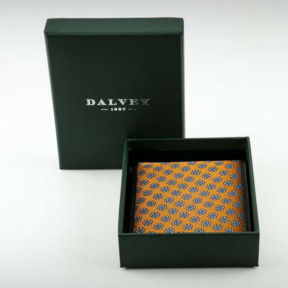 Dalvey Orange Bi- Fold Wallet