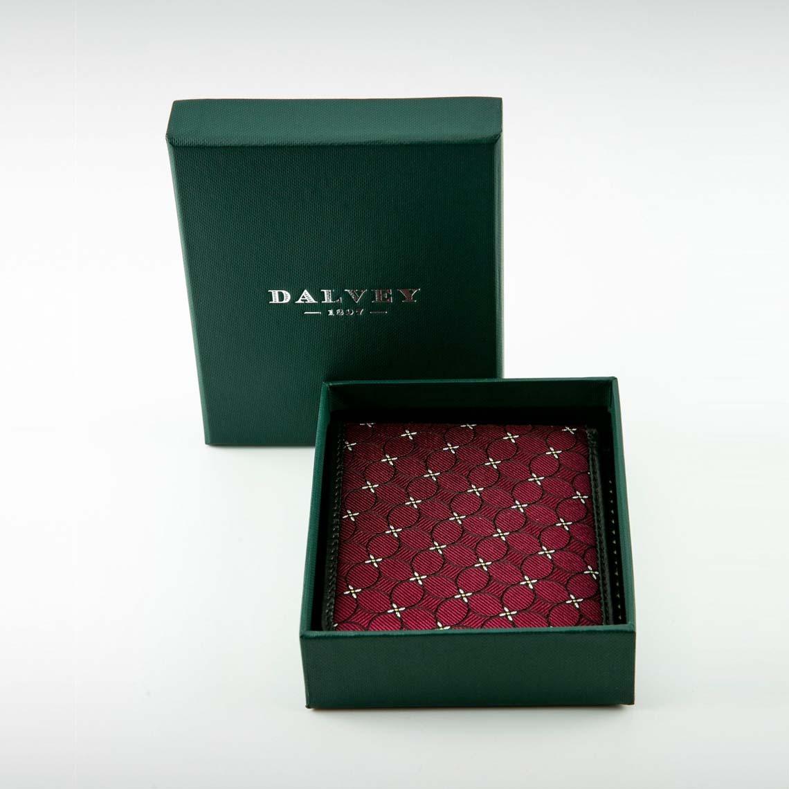 Dalvey Red Bi- Fold Wallet