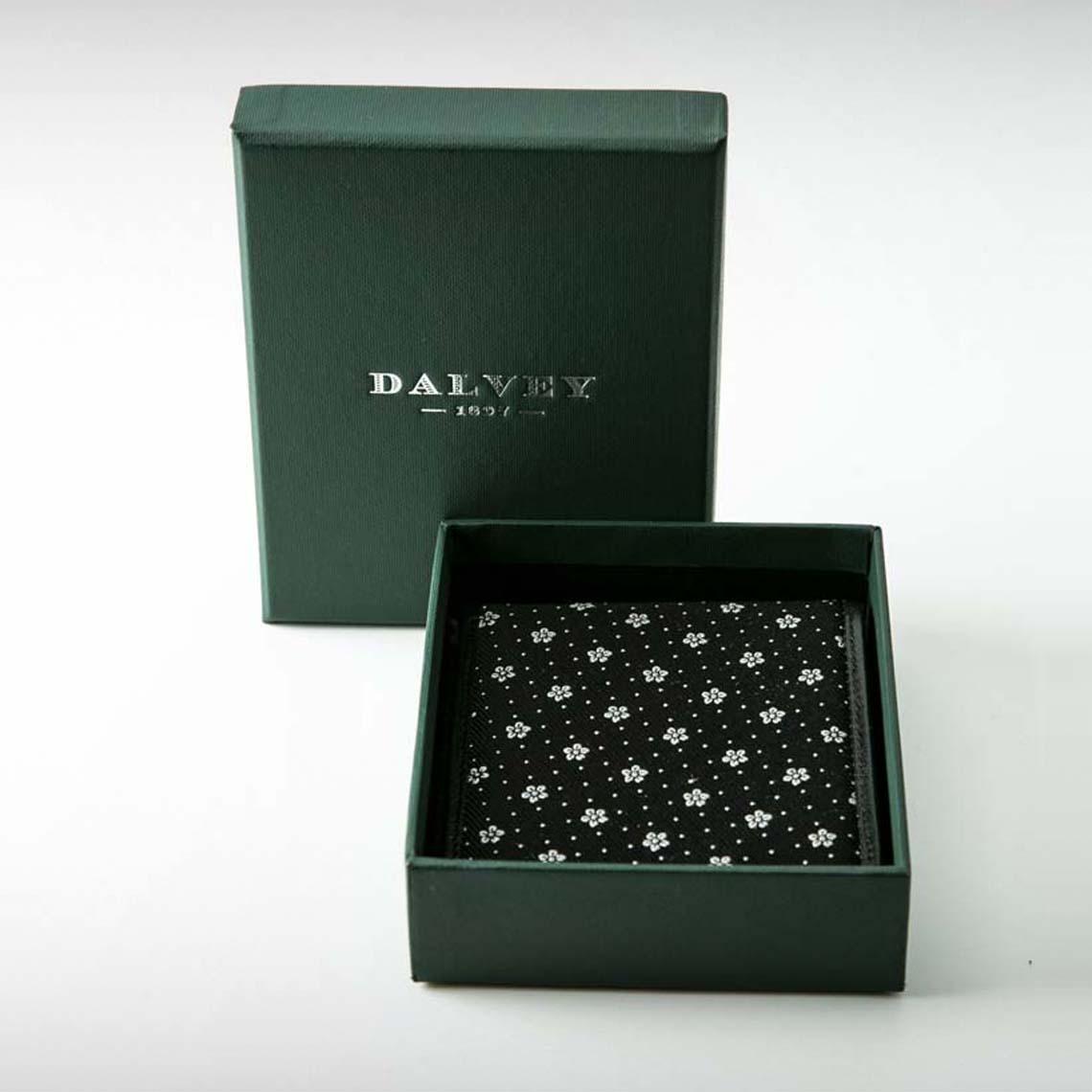 Dalvey Black Bi- Fold Wallet