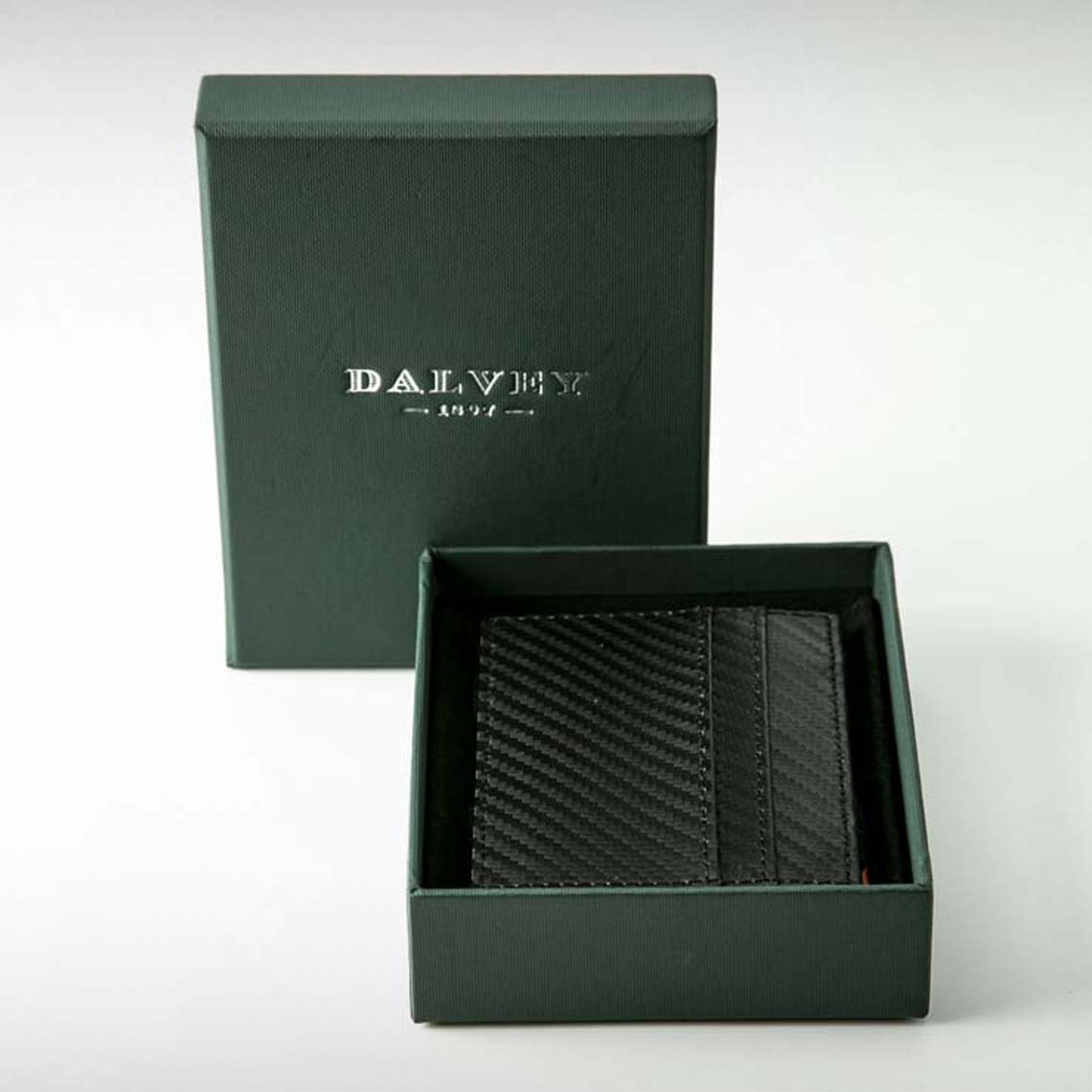 Dalvey Black Money & Card Case