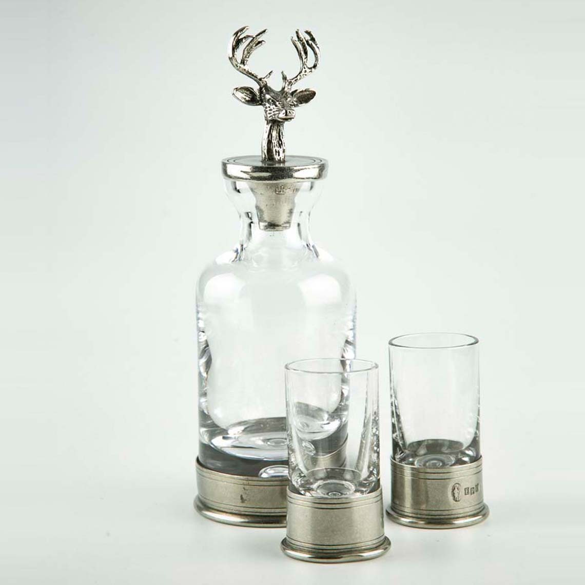 Mini Stag Decanter Set