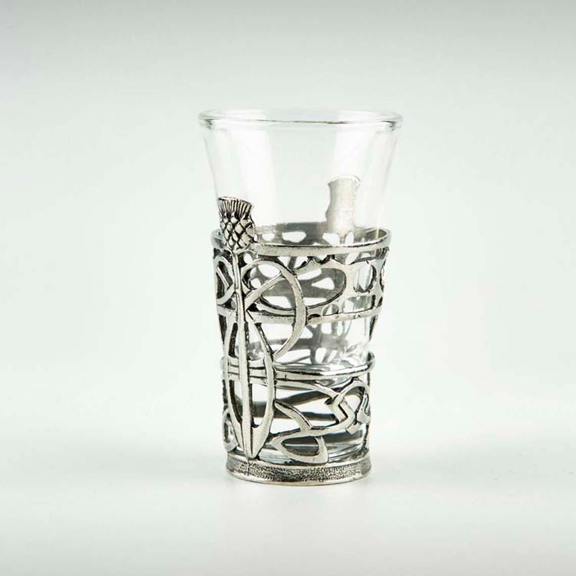 Thistle Shot Glass