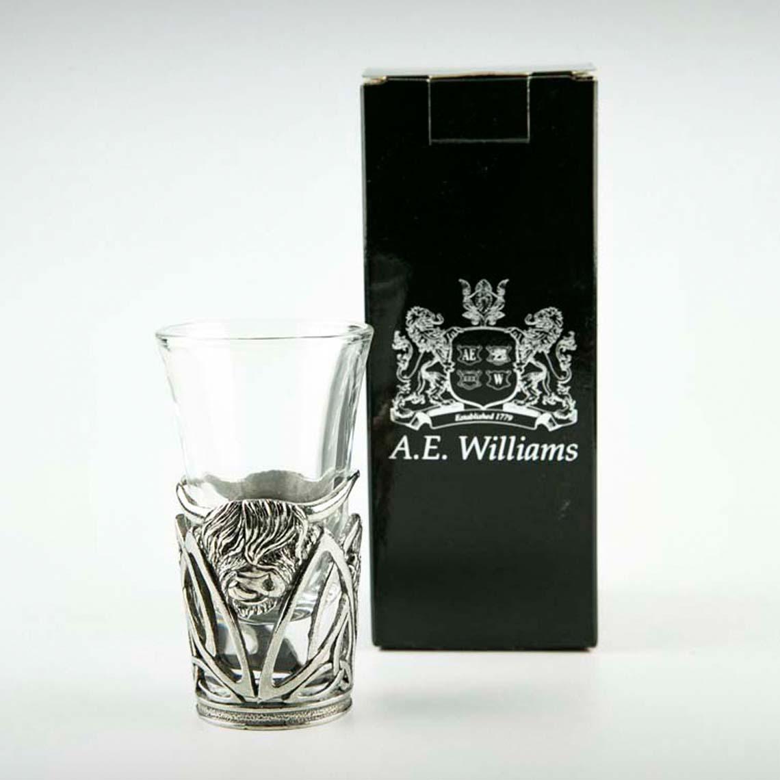 Highland Cow Shot Glass