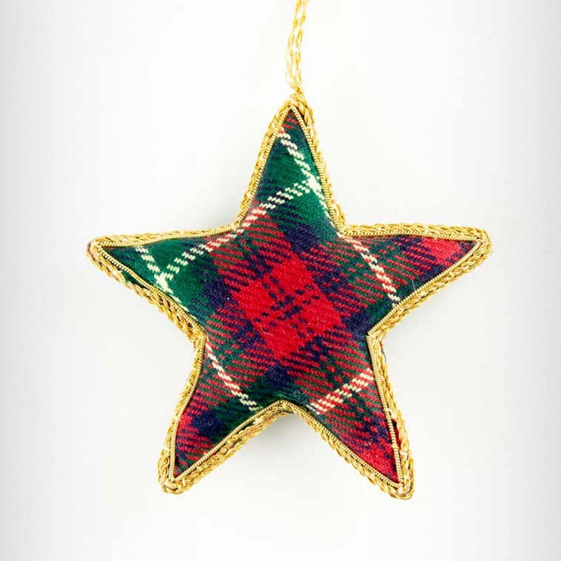 Tartan Star Decoration