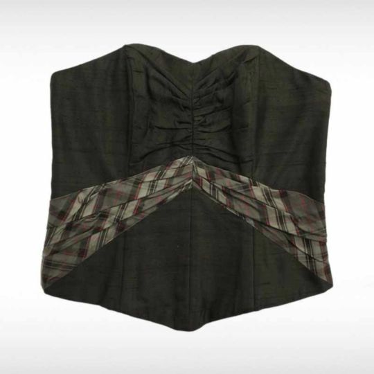 Black Band Bodice