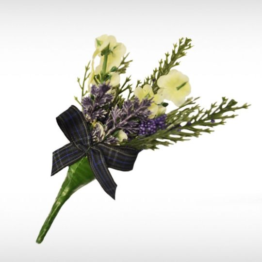 Royal Pride Heather Buttonhole