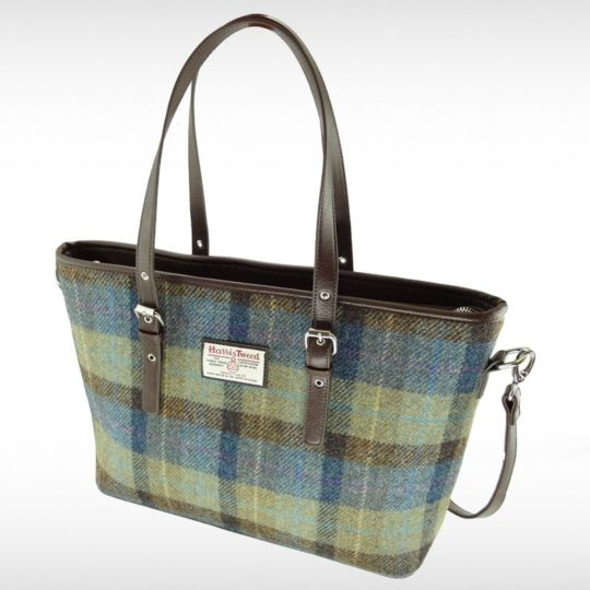 Harris Tweed Spey Tote Bag