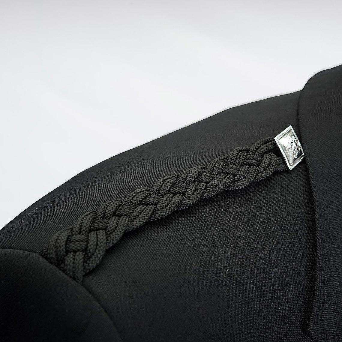 Black Argyll Pride Jacket & Waistcoat
