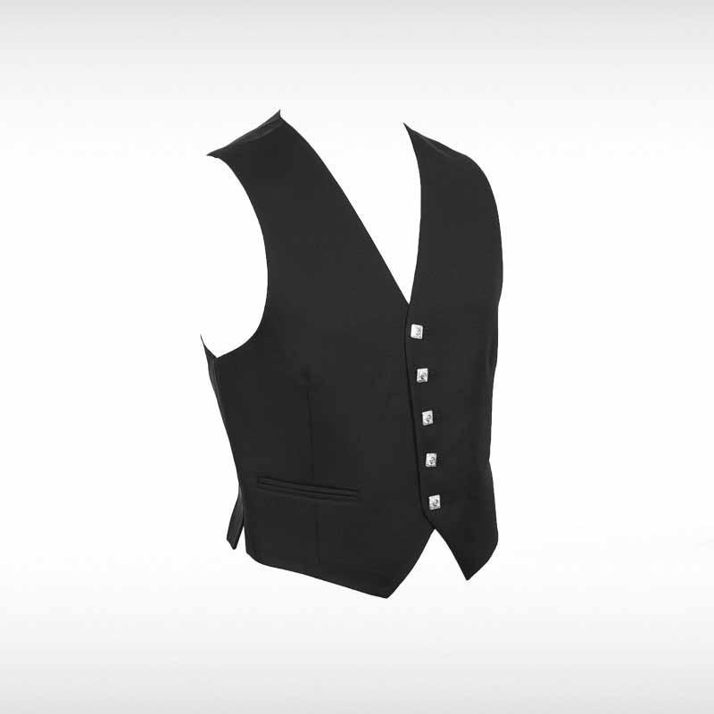 Black Argyll/Crail Waistcoat