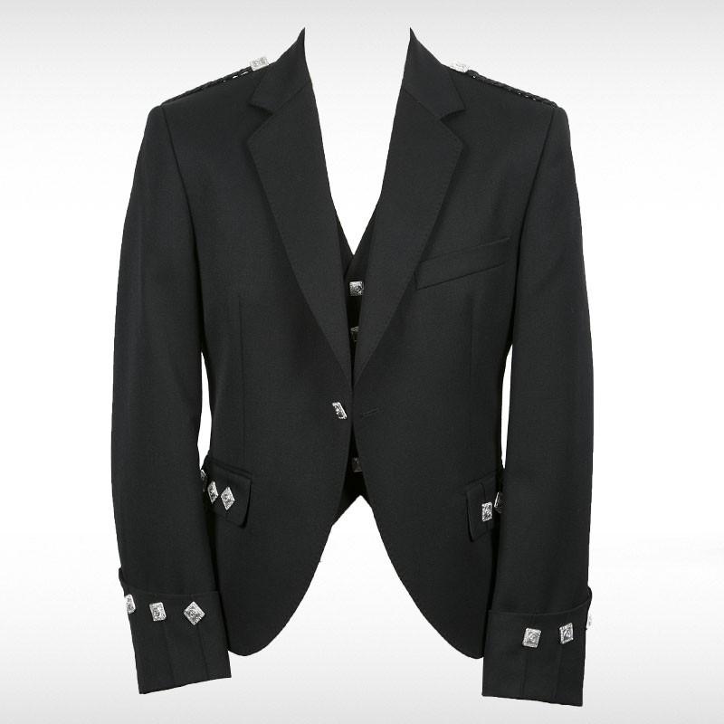 Black Blackmoore Argyll Jacket