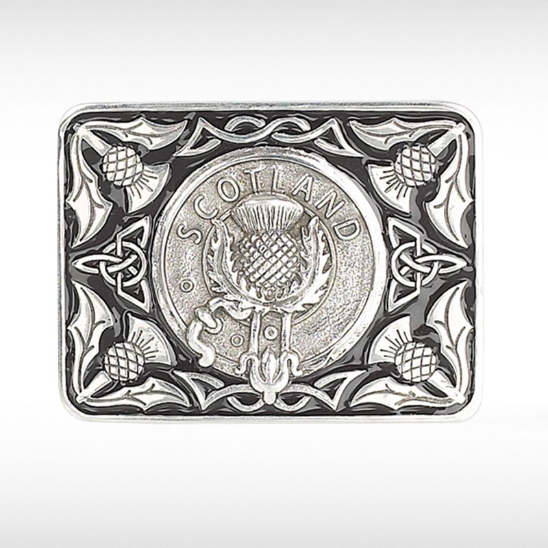 Scotland Thistle Belt Buckle