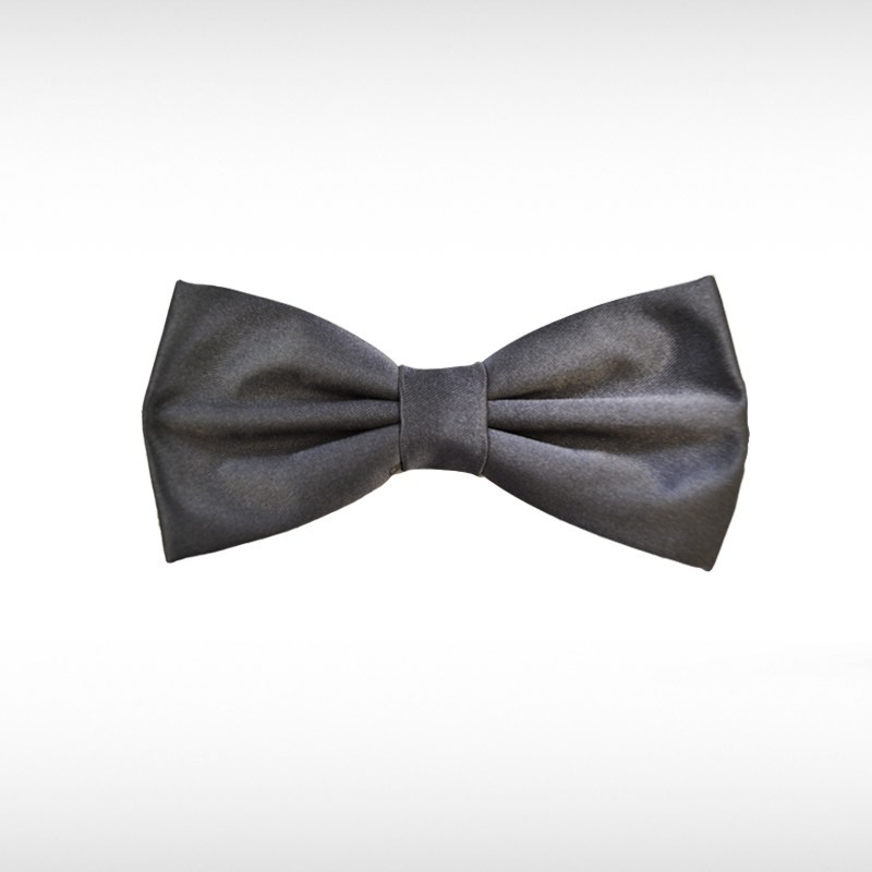 Charcoal Bow Tie