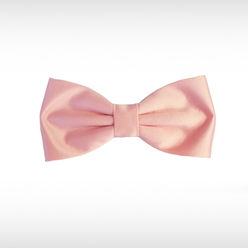 Pastel Pink Bow Tie