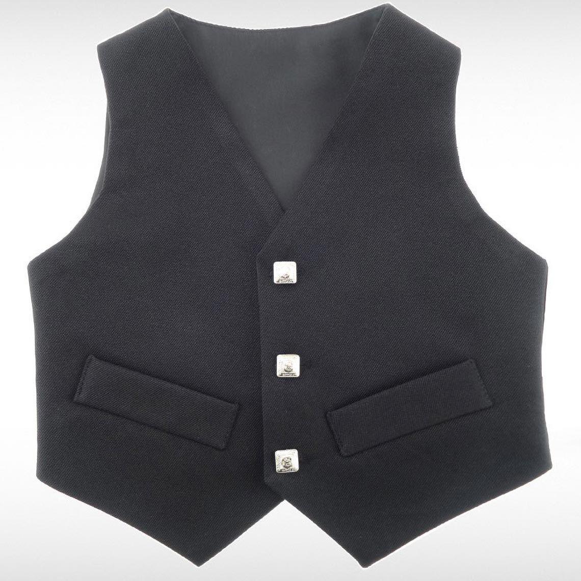 Black Prince Charlie Waistcoat