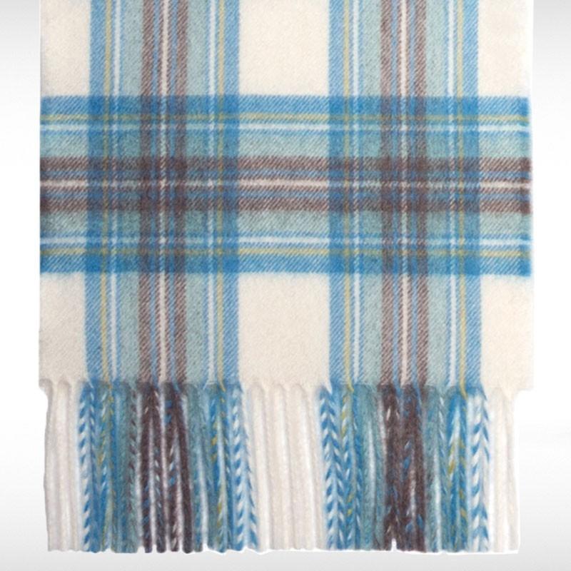 Stewart Blue Dress Cashmere Scarf