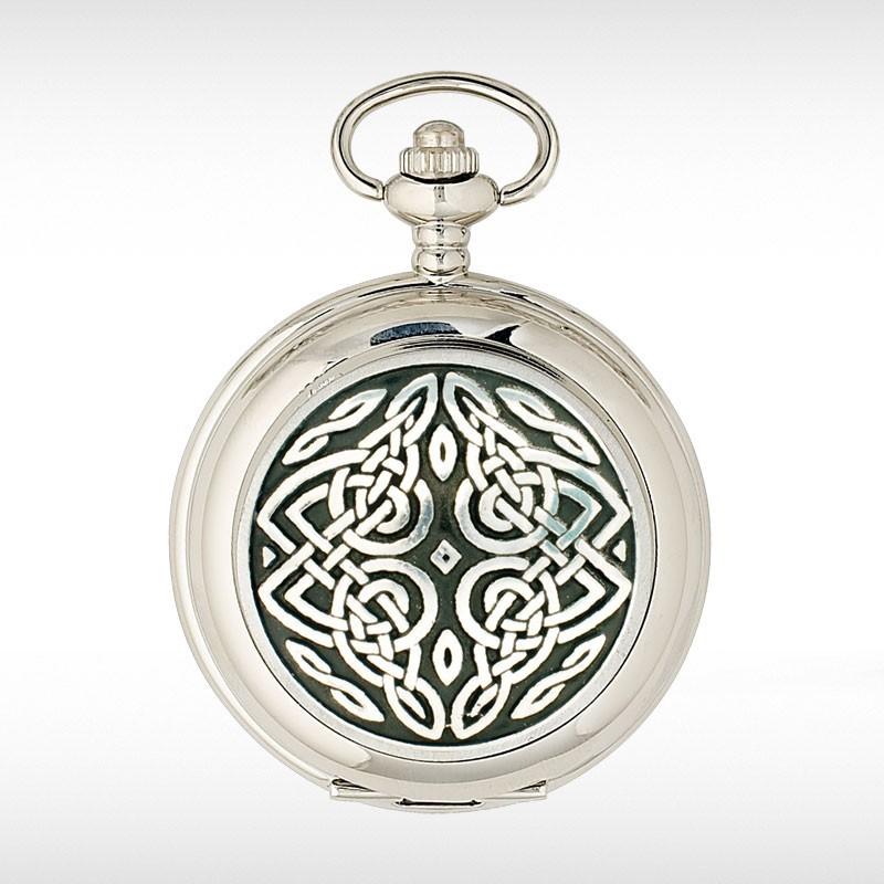 Celtic Knotwork Pocket Watch