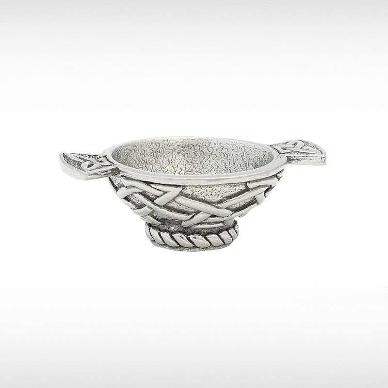 Mini Quaich With Celtic Knot Design