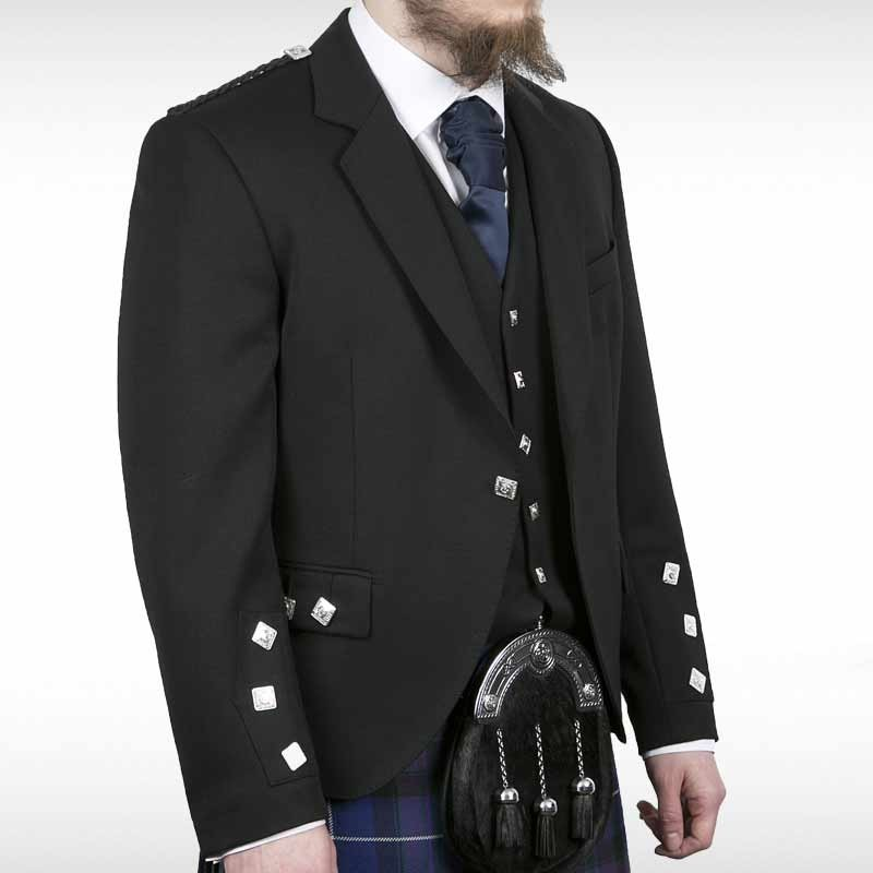 Black Blackmoore Crail Jacket