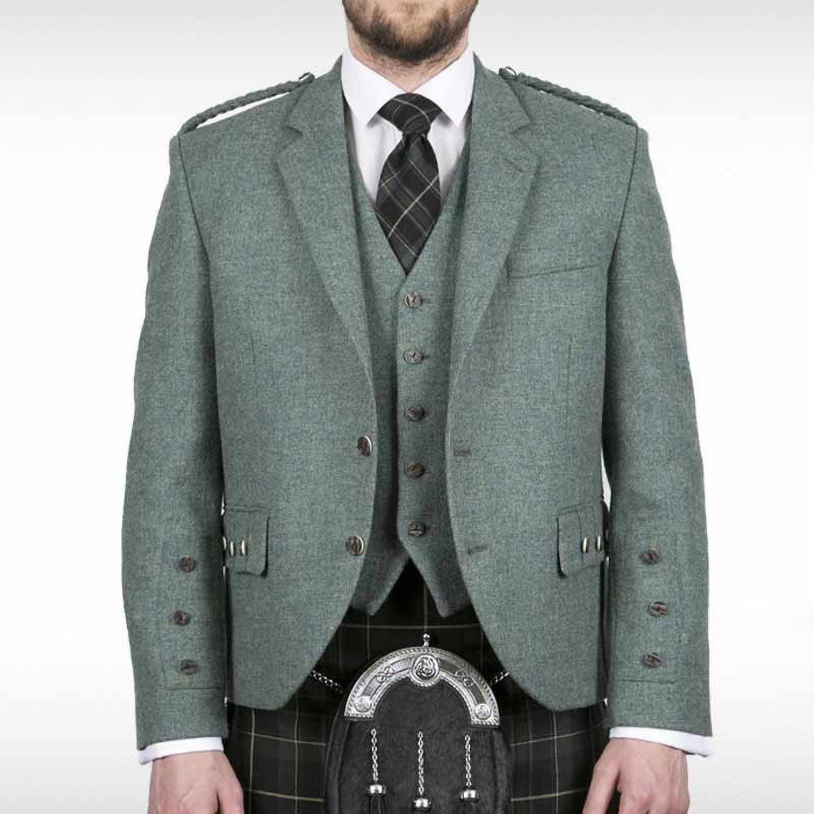 Lovat Green Crail Jacket & Waistcoat