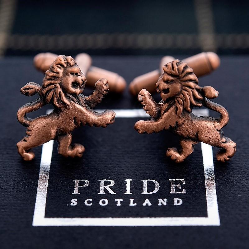 Pride Lion Cufflinks
