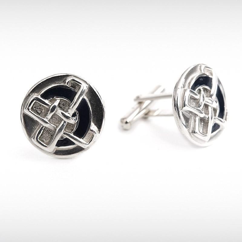 Wallis Hunter Celtic Cross Cufflinks