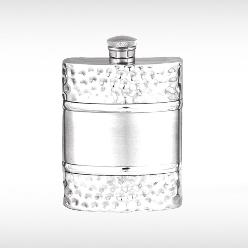 Dimpled Hip Flask