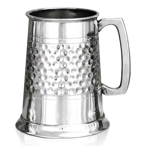 Dimpled Band Tankard