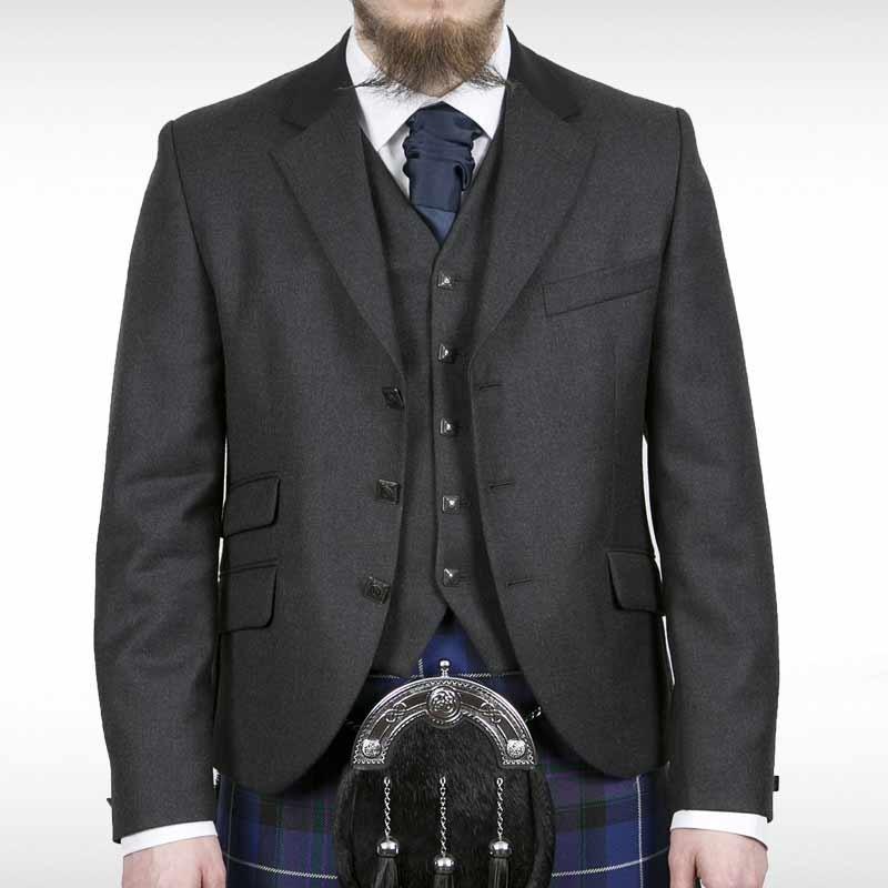 Grey Edwardian Jacket & Waistcoat