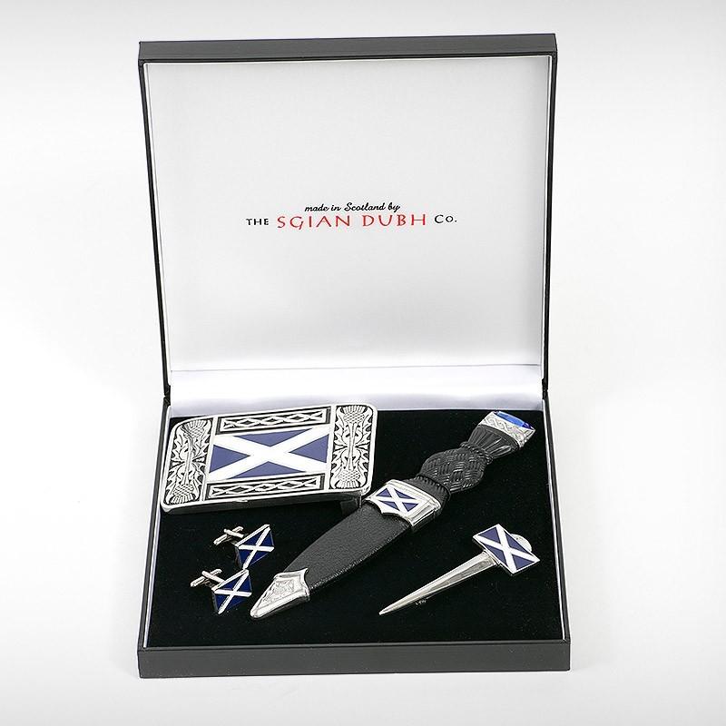 Saltire Four Piece Gift Set