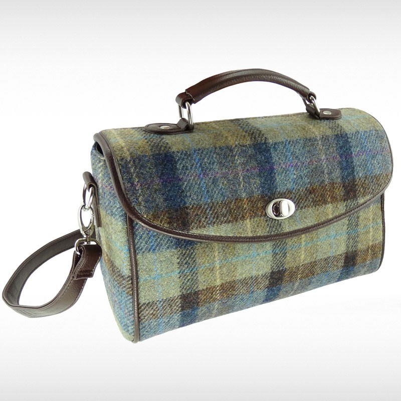 Harris Tweed Calder Satchel Bag
