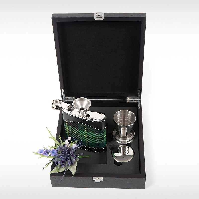 Irish Pride Hip Flask Set