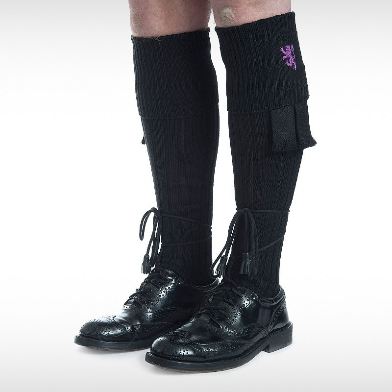 Black Hose Purple Pride Motif