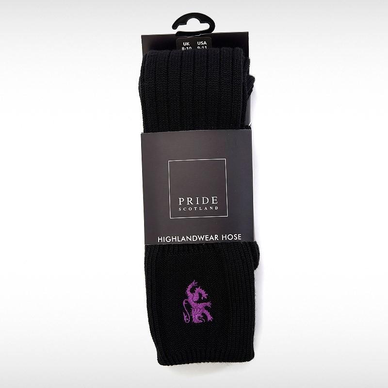 Black Hose Purple Pride Motif