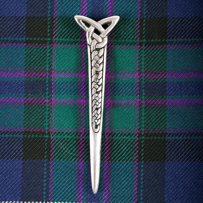 Celtic Dagger Kilt Pin