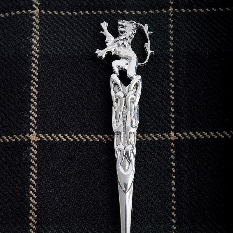 Pride Lion & Sword Kilt Pin