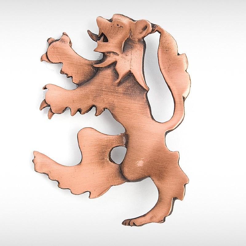 Large Lion Rampant Kilt Pin