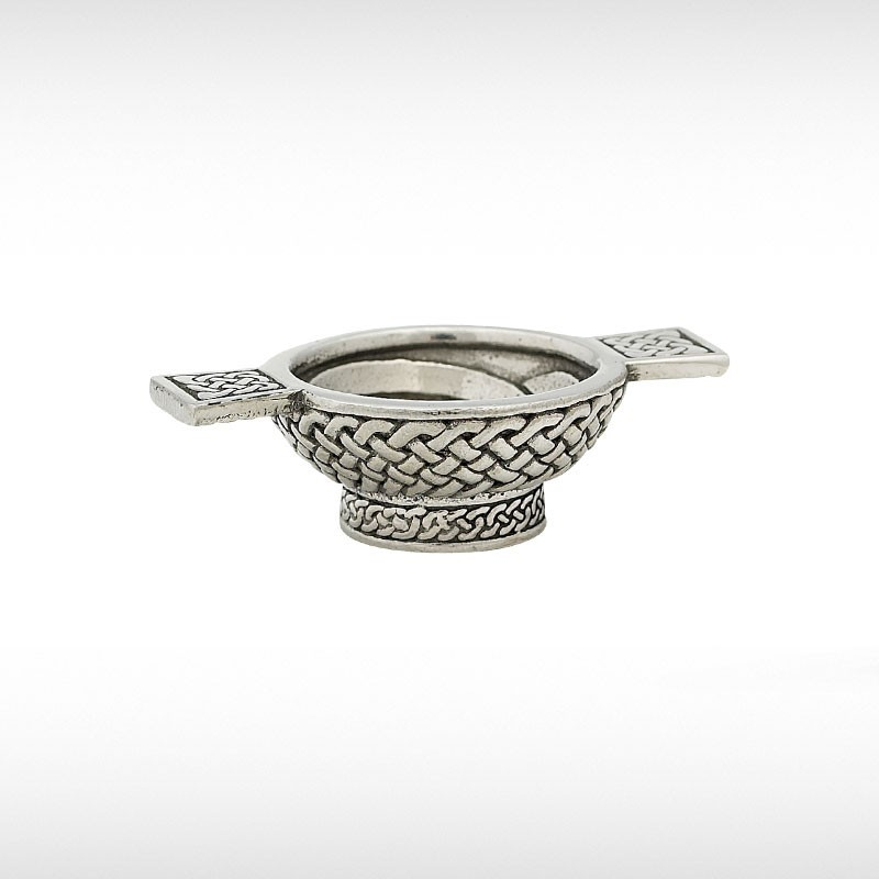 Mini Quaich With Celtic Design