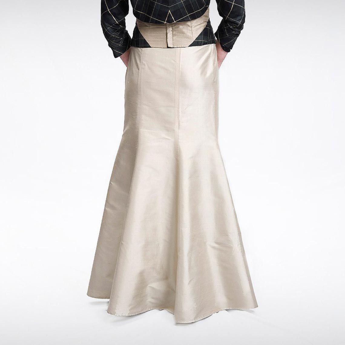 Mink Fishtail Skirt