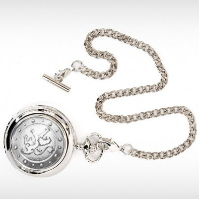 Lion Rampant Pocket Watch