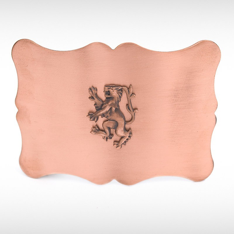 Copper Pride Belt Buckle
