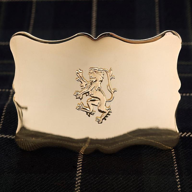 Gold Pride Belt Buckle